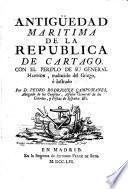 Antigüedad maritima de la republica de Cartago