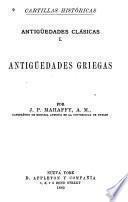 Antigüedades clásicas I.