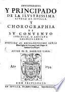 Antiguedades y Principado de ... Sevilla