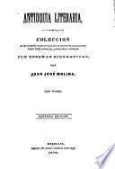 Antioquía literaria