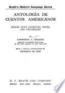 Antologia de Cuentos Americanos