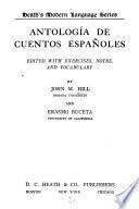 Antologia de cuentos espanoles