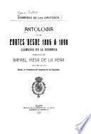 Antología de las Cortes