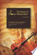 Antología de Obras Musicales