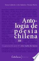 Antología de poesía chilena III