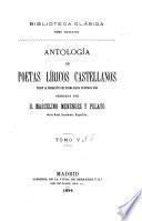 Antología de poetas líricos castellanos desde la formación del idioma hasta nuestros días: La lírica erudita y artística de los tiempos medios