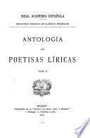 Antología de poetisas líricas