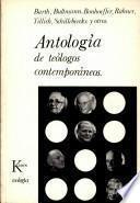 Antología de Teólogos Contemporaneos
