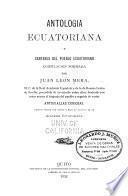 Antologia ecuatoriana