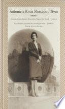 Antonieta Rivas Mercado. Tomo I