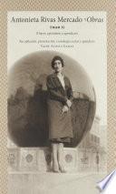 Antonieta Rivas Mercado. Tomo II