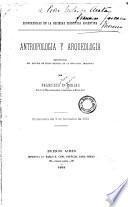 Antropología y arqueología, importancia del estudio de estas ciencias en la República Argentina