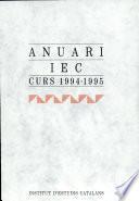 Anuari IEC : curs 1994-1995