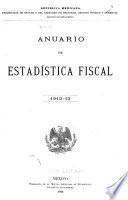 Anuario de estadística fiscal
