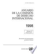 Anuario de la Comisión de Derecho Internacional 1998, Vol.II, Parte1