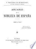 Anuario de la nobleza de España
