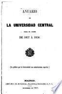 Anuario de la Universidad de Madrid