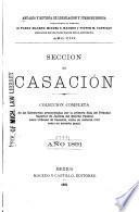 Anuario de legislación y jurisprudencia