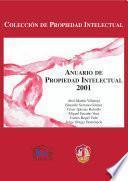 Anuario de propiedad intelectual 2001