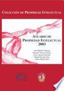 Anuario de propiedad intelectual 2003