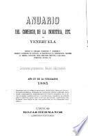 Anuario del comercio, de la industria, etc. de Venezuela