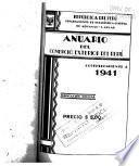 Anuario del Comercio Exterior del Perú