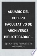 Anuario del Cuerpo Facultativo de Archiveros, Bibliotecarios y Anticuarios