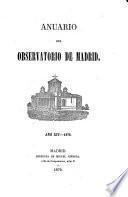 Anuario del Observatorio de Madrid0