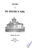 Anuario del Real Observatorio de Madrid