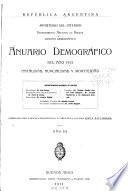 Anuario demográfico ...