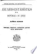 Anuario estadístico de Chile