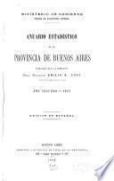 Anuario estadístico de la Provincia de Buenos Aires