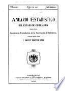 Anuario estadístico del estado de Chihuahua