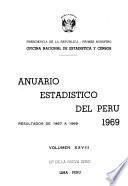Anuario estadístico del Perú