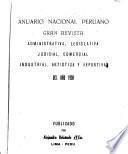 Anuario nacional peruano