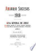 Anuario sucesos guía general de Chile