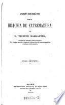 Aparato bibliografico para la historia de Extremadura