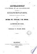 Apelación a la justicia de los contemporaneos del difunto Luciano Bonaparte