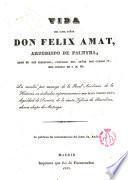 Apéndice a la Vida de Ilmo. Sr. D. Félix Amat