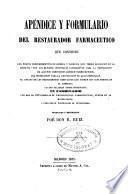 Apéndice y formulario del restaurador farmacéutico que contiene...