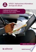 Aplicaciones informáticas de hojas de cálculo. ADGD0108