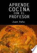 Aprende cocina con el profesor