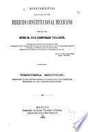 Apuntamientos para el estudio del derecho constitucional mexicano