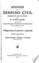 Apuntes de derecho civil