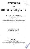 Apuntes de historia literaria del R. P. Zoëll. (Prellezo.)