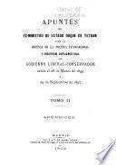 Apuntes del ex-ministro de estado, duque de Tetuán, para la defensa de la política internacional y gestión diplomática del gobierno liberal-conservador desde el 28 de marzo de 1895 á 29 de septiembre de 1897 ...