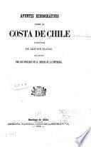 Apuntes hidrográficos sobre la costa de Chile