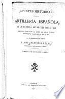 Apuntes históricos sobre la artillería española en la primera mitad del siglo XVI