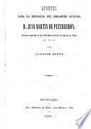 Apuntes para la biografia del Brig-gen. J.M. de Pueyrredon