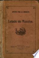 Apuntes para la geografia del estado de Morelos